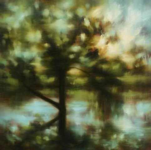 "'Fleeting Moment'-  48"" x 48"", oil on canvas.  $4,800."