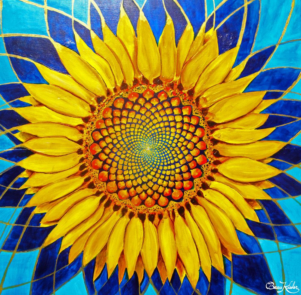 Sunflower 24 x 24 SOLD