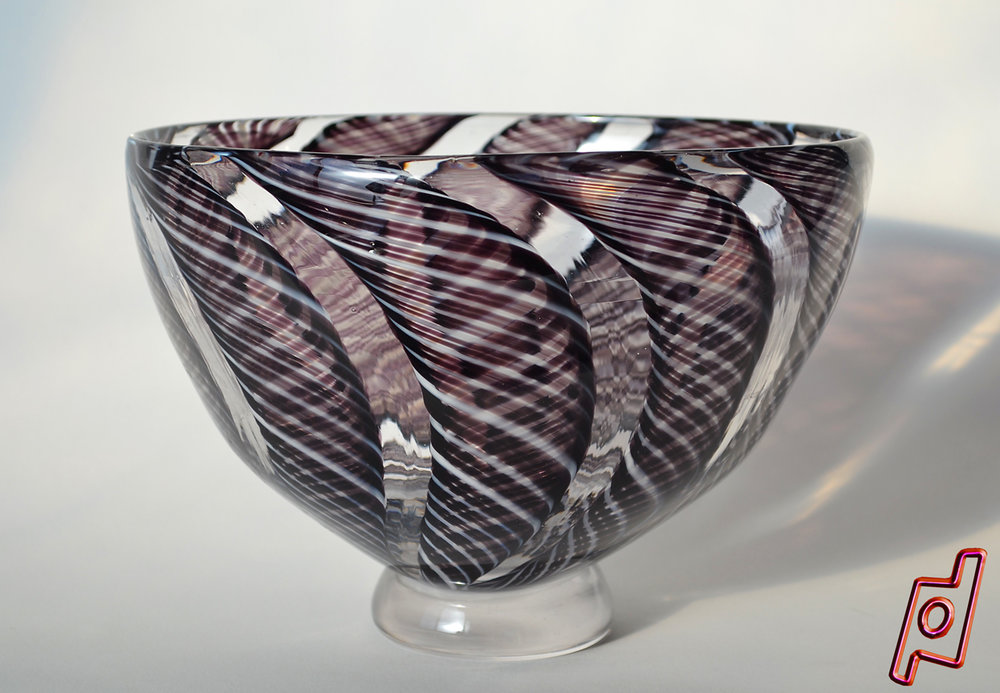 GLASS 9 IN BOWL $325