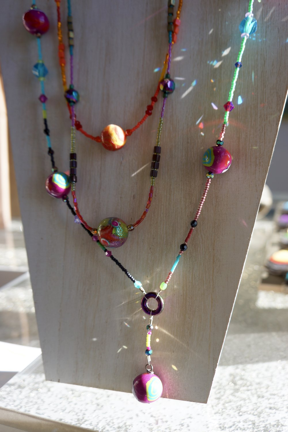 HAND BEAADED JEWELRY BY MICHELLE COURIER STARTING AT $50.00