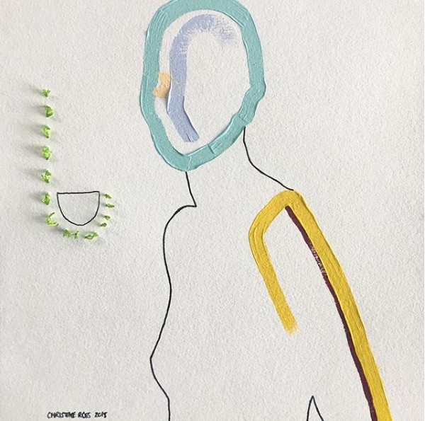 Christine Ross Single line gouache with embellishments.png