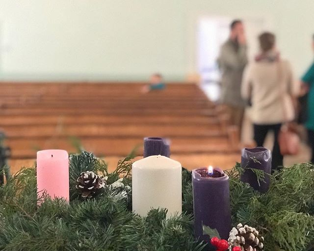 May this Advent season provide you ample opportunity not to unplug from all the busy-ness that surrounds us, but may we fully engage with it and see each moment bursting with the glory and joy and hope of God.  May each conversation provide us opportunity to see God at work.  Because he is.
