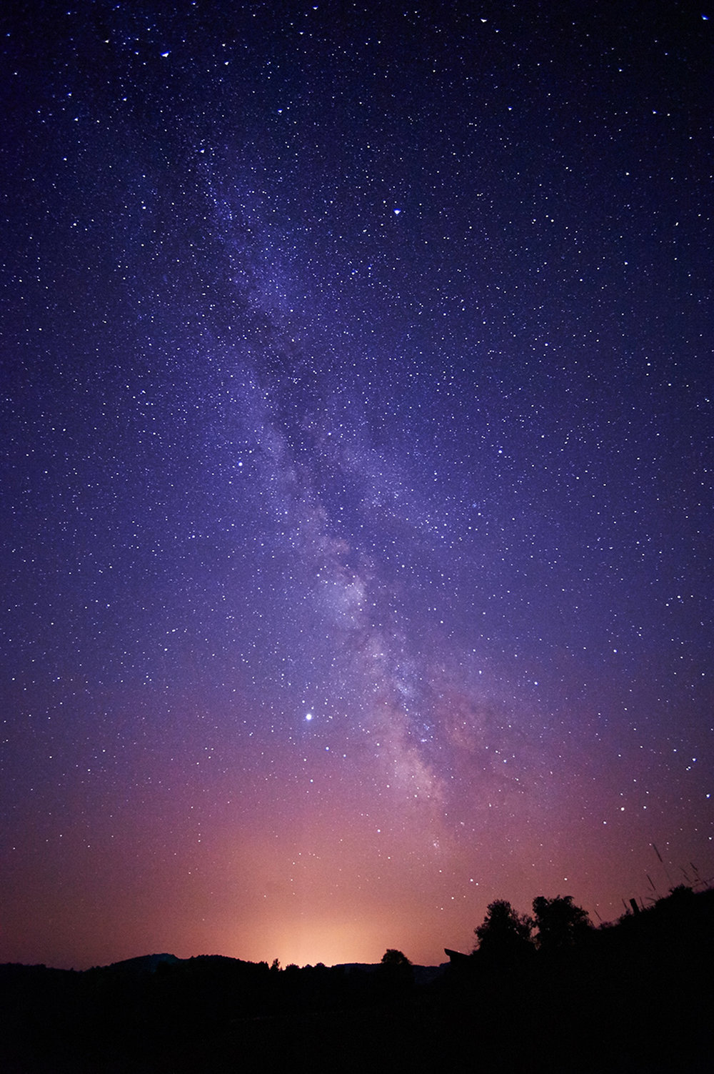 Milky Way and Night Sky, Hamilton, New York
