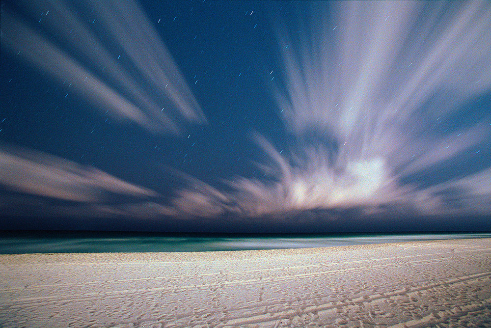Night Sky and Stars, Miami, Florida