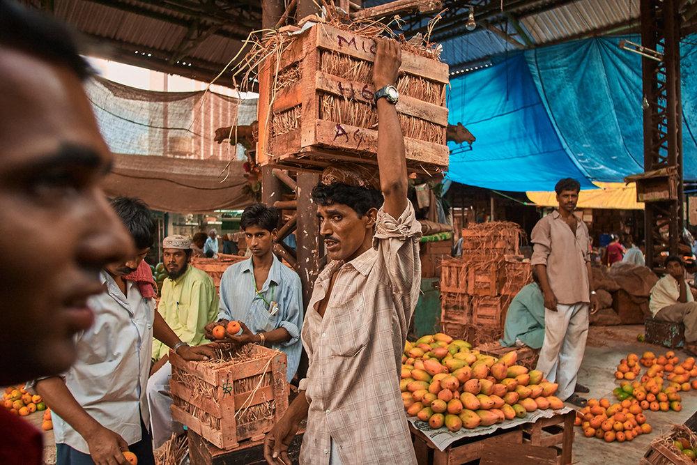Outdoor Market, Mumbai, India