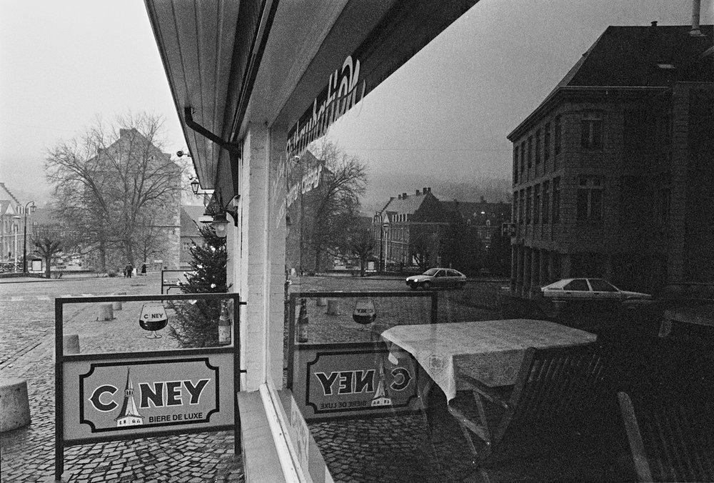 Window and Reflection, Belgium