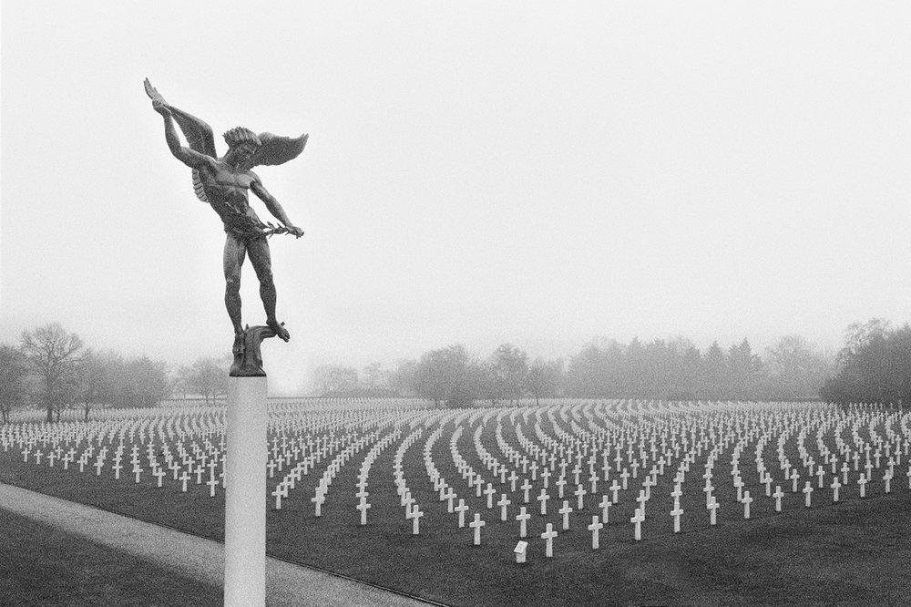 Man In The Fields Henri-Chapelle American Cemetery, Aubel, Belgium