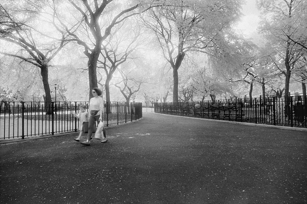 Mother & Child, Tompkins Square Park, New York City, NY