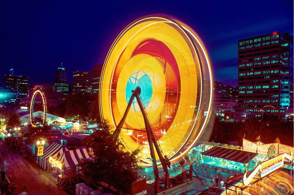 Ferris Wheel, Rose Festival, Portland, Oregon