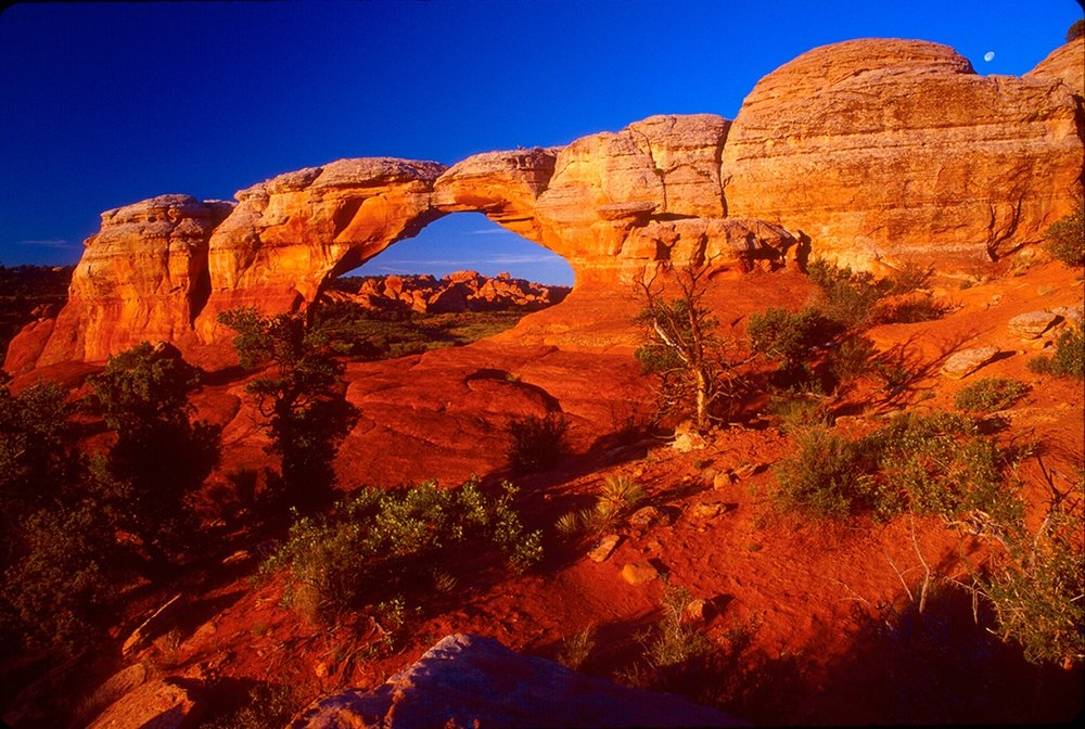 Broken Arch at Dawn, Arches National Park, Utah