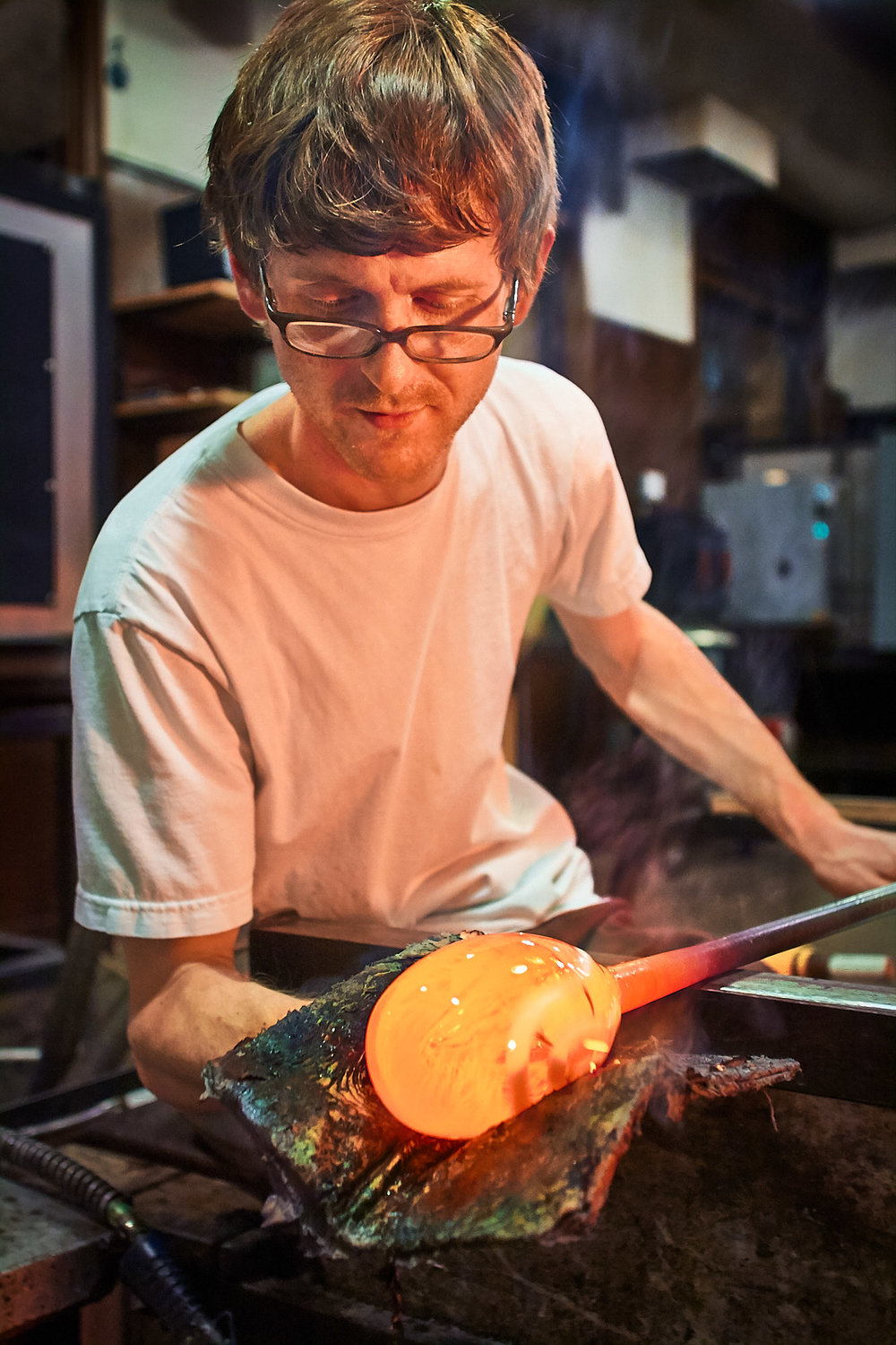 Glassblower, Vancouver, Washington