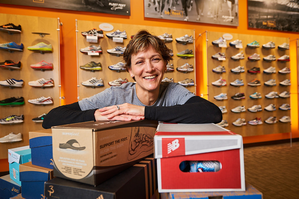 Ellen Griffin, Co-owner Of Fleet Feet Sports, Syracuse, New York