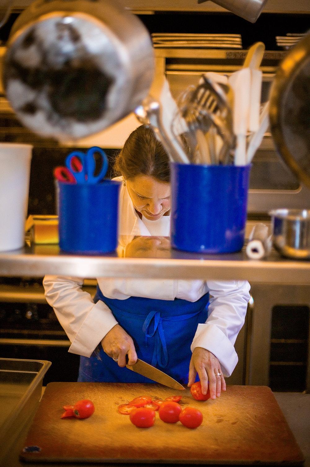 Chef Linda Colwell, Portland, Oregon