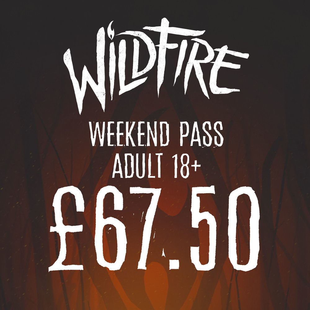 WEEKEND PASS (AGES 18+) £67.50