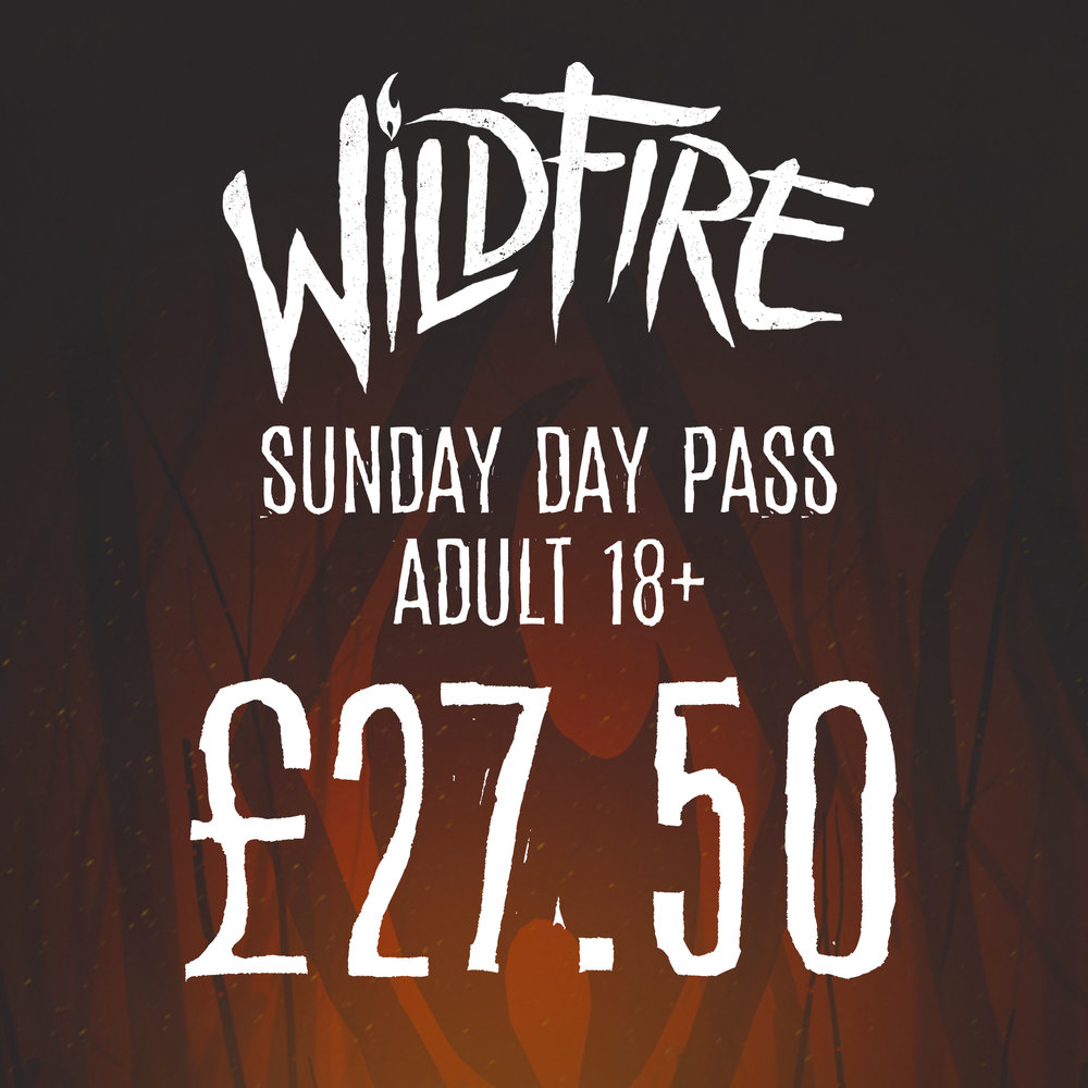 SUNDAY DAY PASS (AGES 18+) £27.50