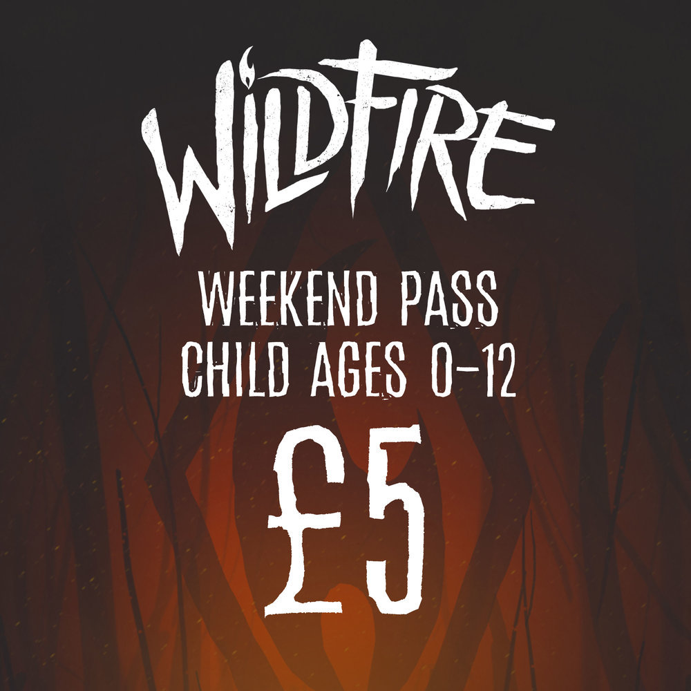 WEEKEND PASS (AGES 0-12) £5.00