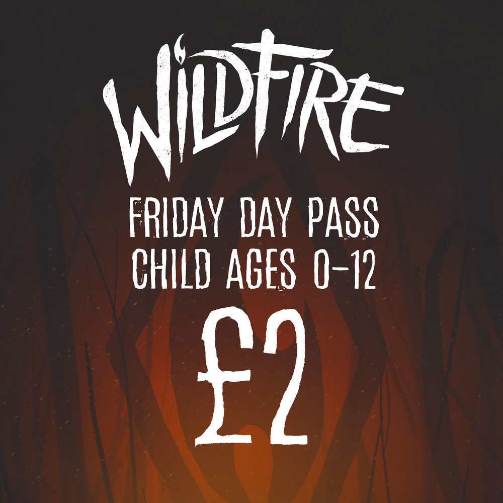 FRIDAY DAY PASS (AGES 0-12) £2.00