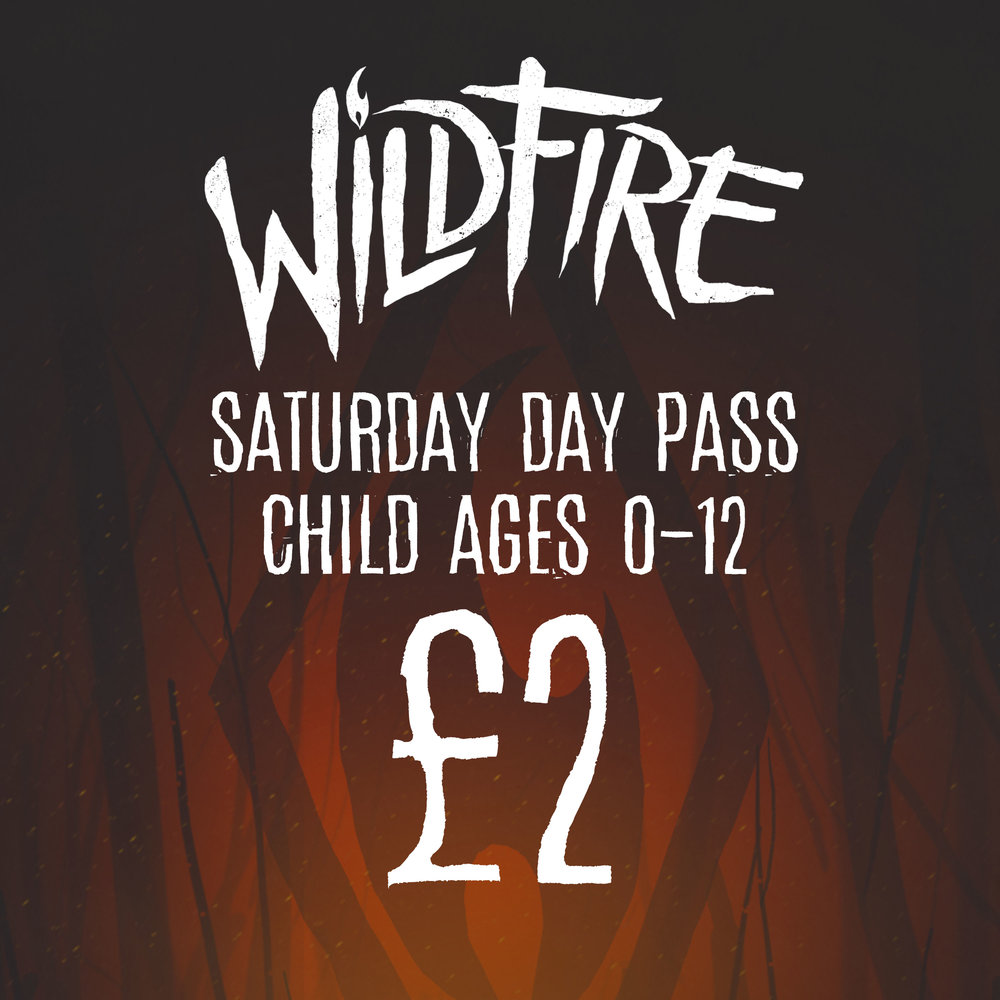 SATURDAY DAY PASS (AGES 0-12) £2.00
