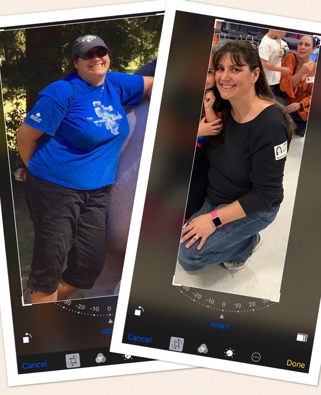 - Jenna lost 45 Pounds!