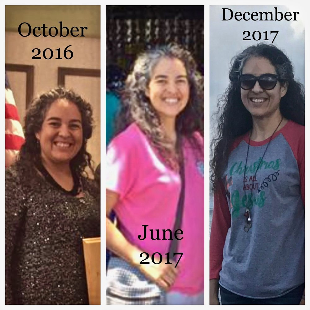 Sonia lost 40 pounds!!!