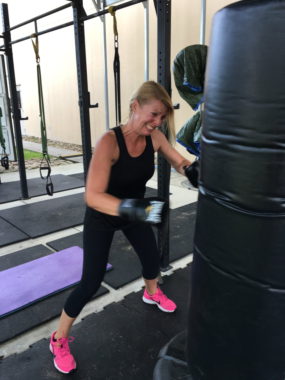 Boxing and TRX -