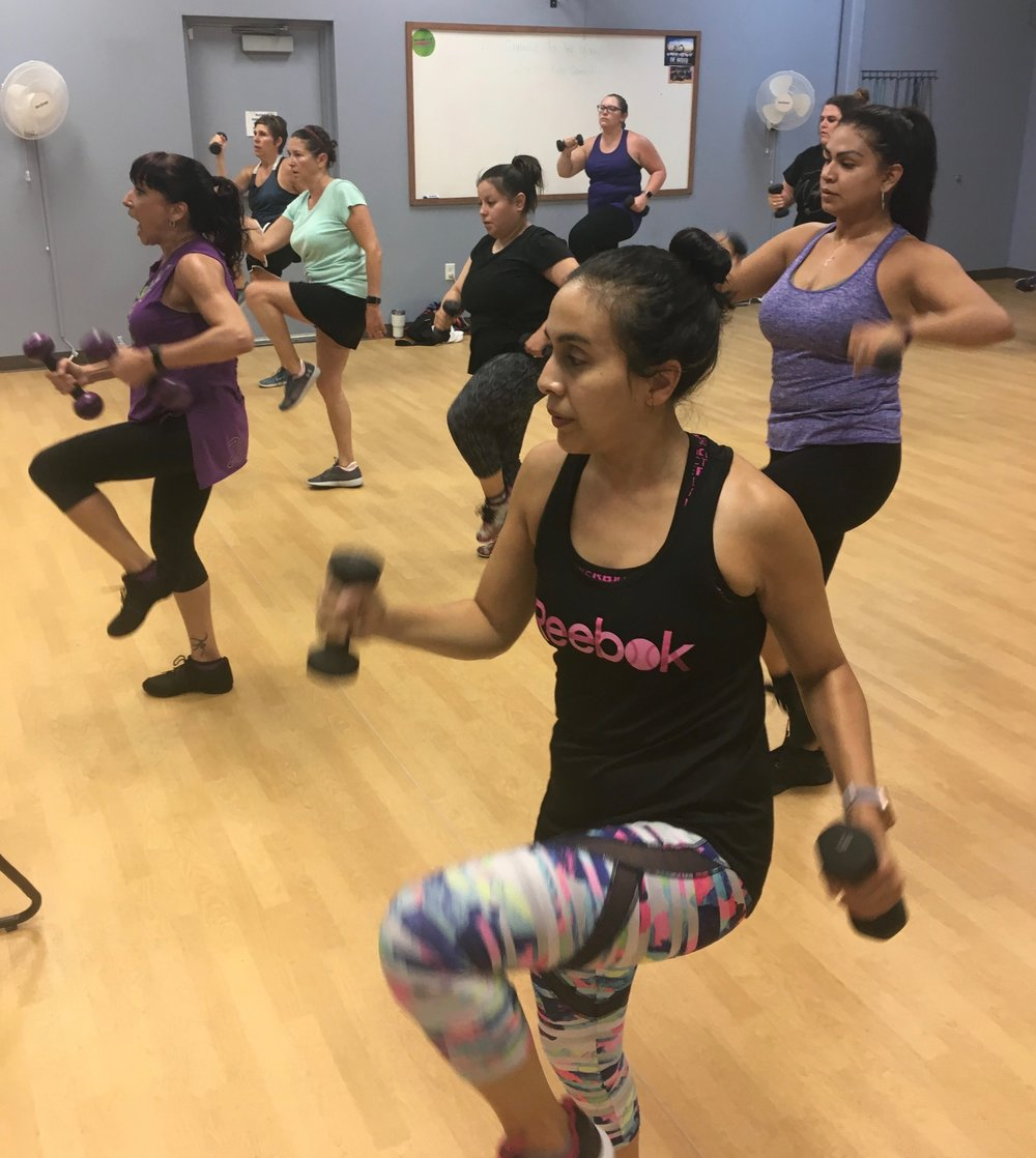 Group Exercise Room -