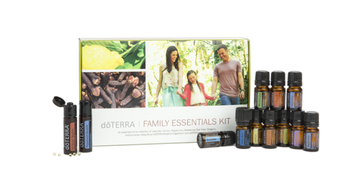 FAMILY ESSENTIALS KIT AND BEADLETS 5 mL BOTTLES: • Lavender, Lemon, Peppermint, Melaleuca, Oregano, Frankincense, Deep Blue®, dōTERRA Breathe®, DigestZen®, and dōTERRA On Guard® OTHER PRODUCTS: • Peppermint Beadlets • dōTERRA On Guard® Beadlets • Wellness Advocate Introductory Packet 60200540 $150.00 110 PV