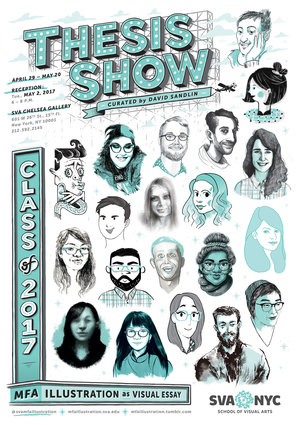 Thesis show class of 2017 mfa illustration as visual essay thecheapjerseys Choice Image