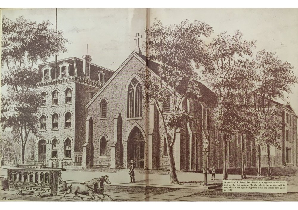 The Original St. James (Print)
