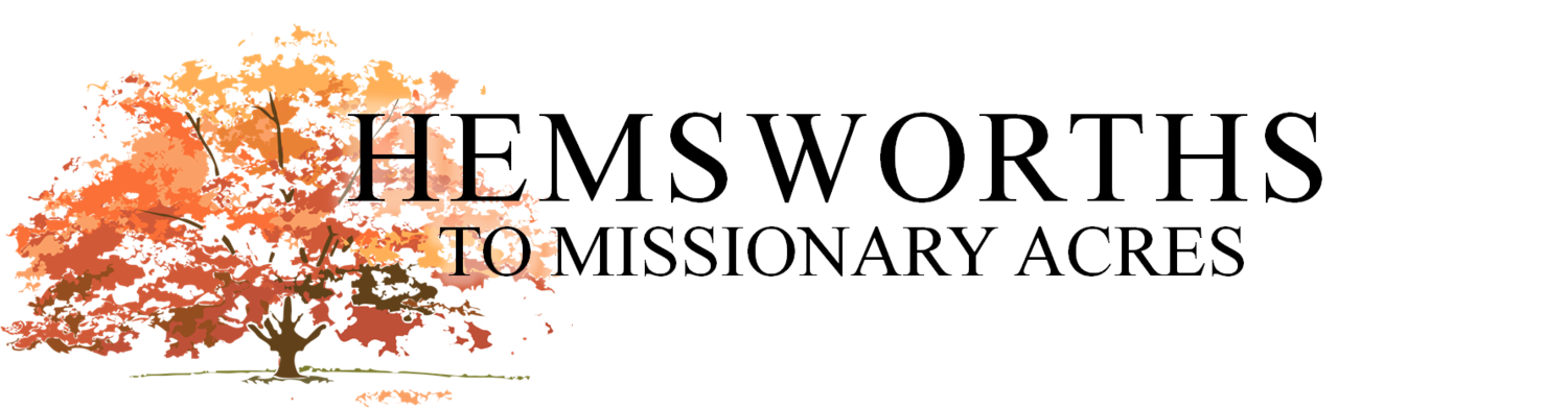 Hemsworths to Missionary Acres