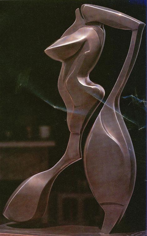 "Bronze - One Size - 27"" - Series of Six - One Remaining"