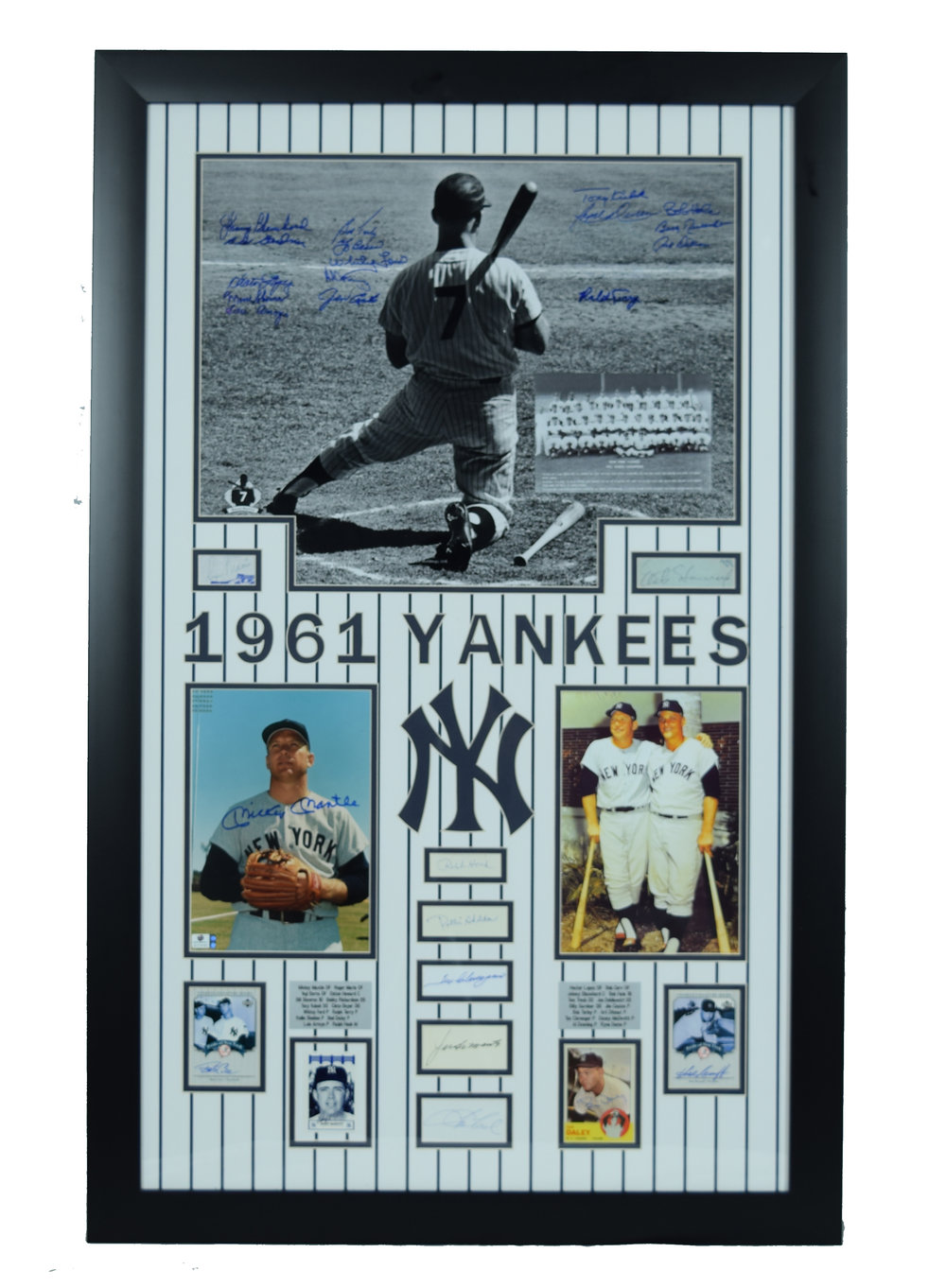 NY Yankees Collectors Plaque