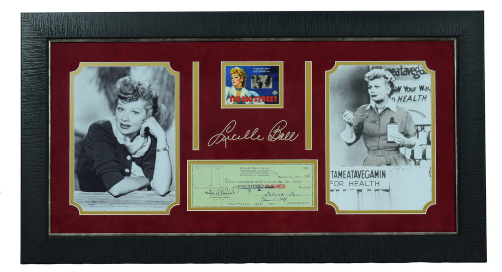 Lucille Ball Collector's Plaque
