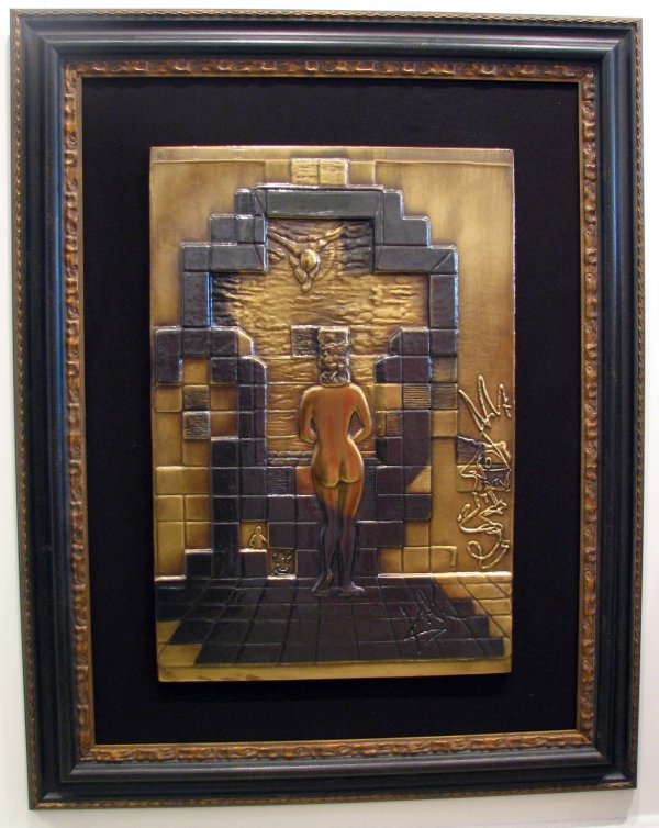 Dali - 'Lincoln' Brass Relief Numbered