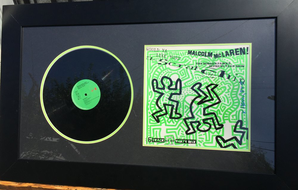 Keith Haring - Original artwork and vinyl