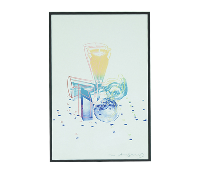 And Warhol Signed & Numbered Lithograph