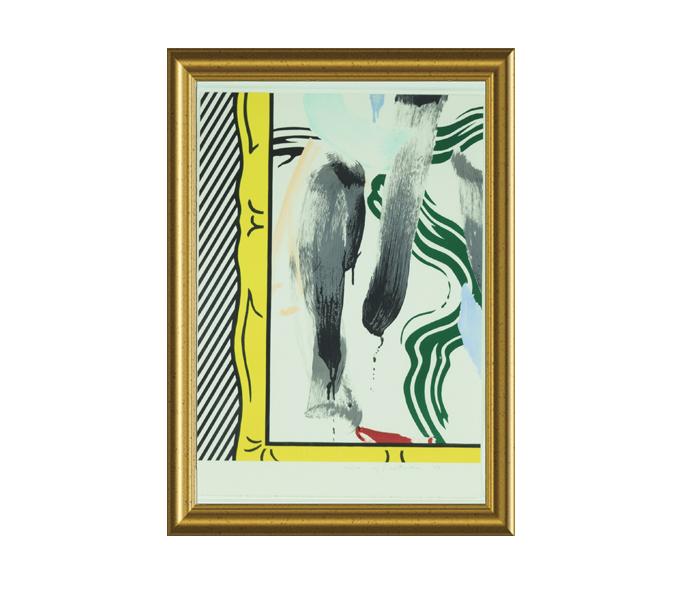 R. Lichtenstein Signed & Numbered Lithograph