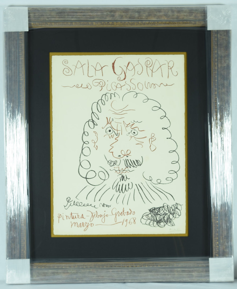 Picasso Original Lithograph Signed & Numbered