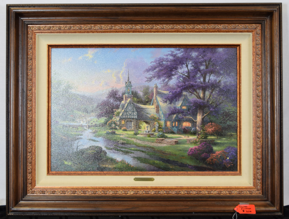 Thomas Kinkade Signed & Numbered Lithograph