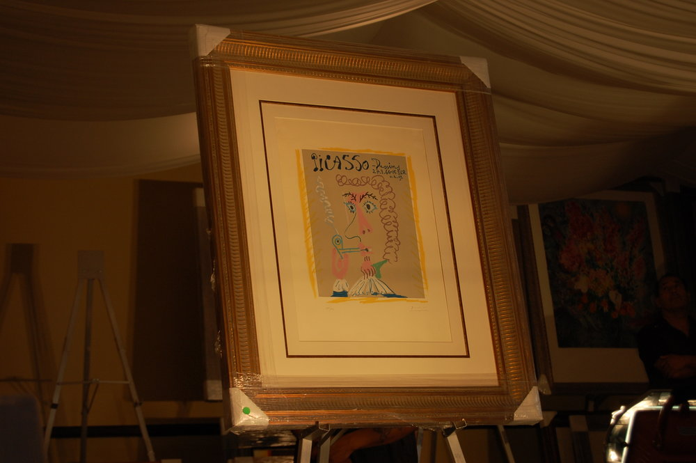 Hand signed Picasso (1967)
