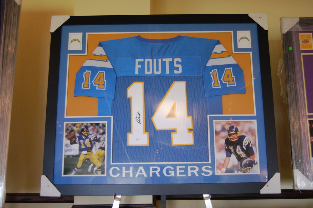 Signed Dan Fouts Jersey