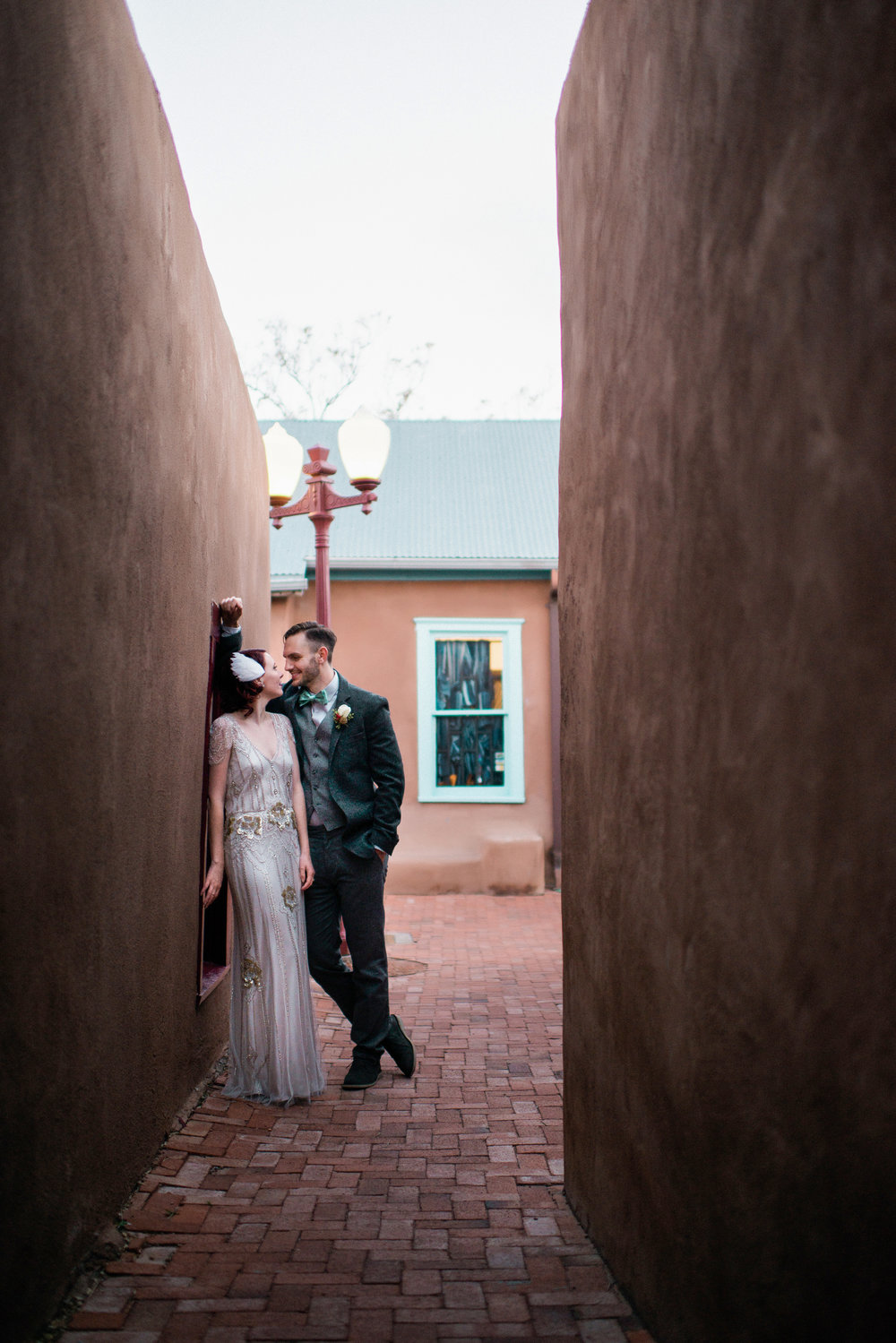 Connor & Melanie Wedding  Old Town, Albuquerque