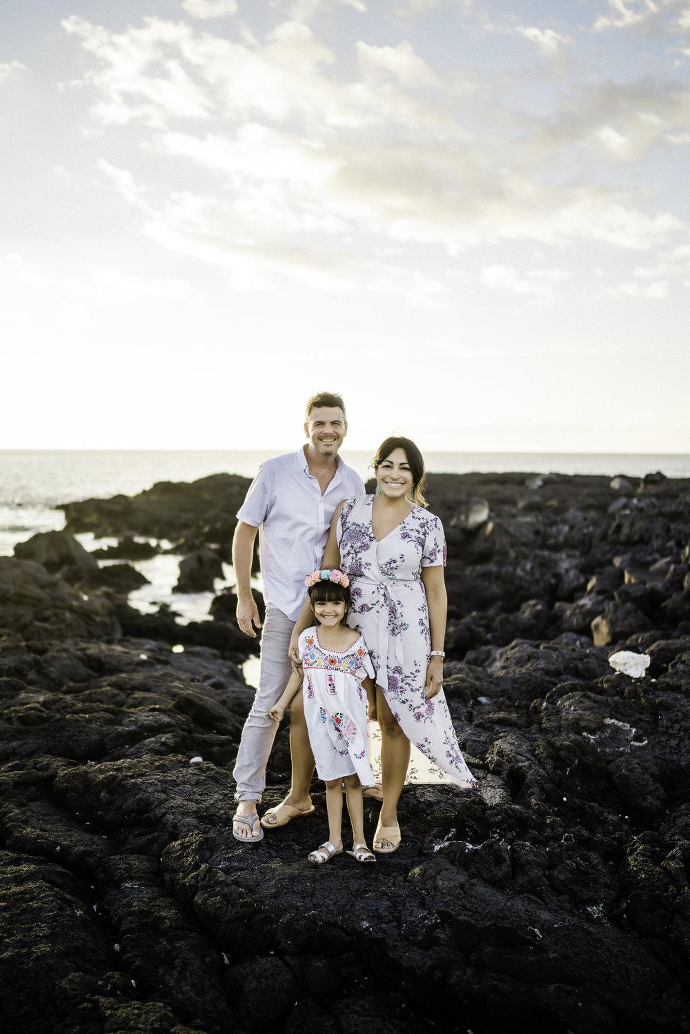 Foster Family Photos  Kona, Hawaii