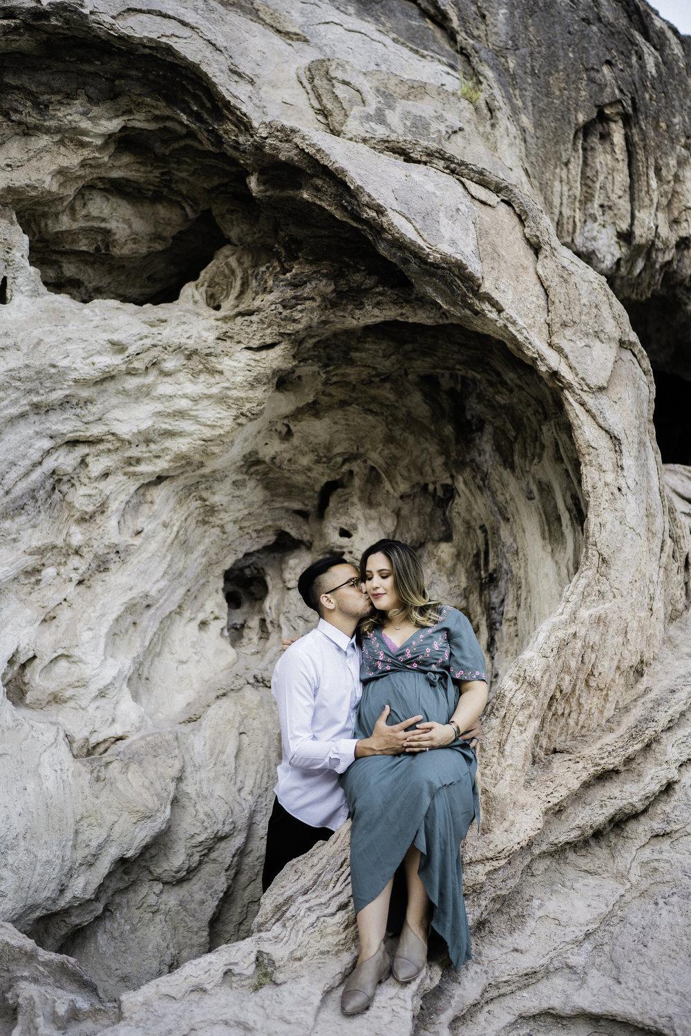 Anna & Ben Maternity  Jemez, NM