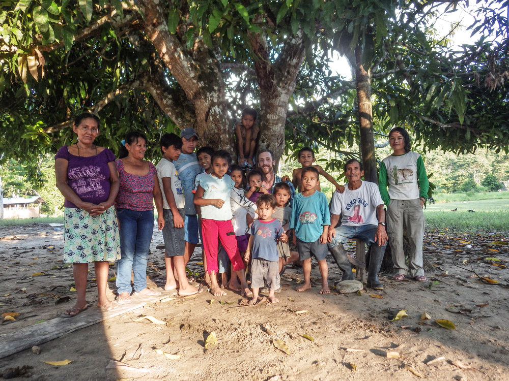 Our local project partners, the Golondrina community