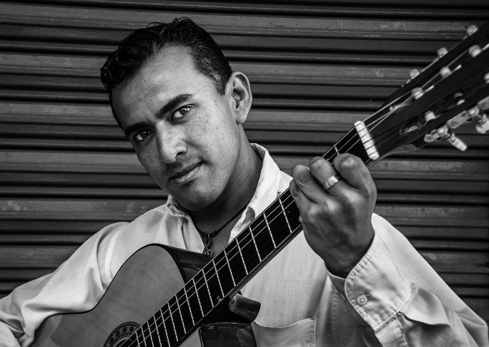 Handsome Guitarist