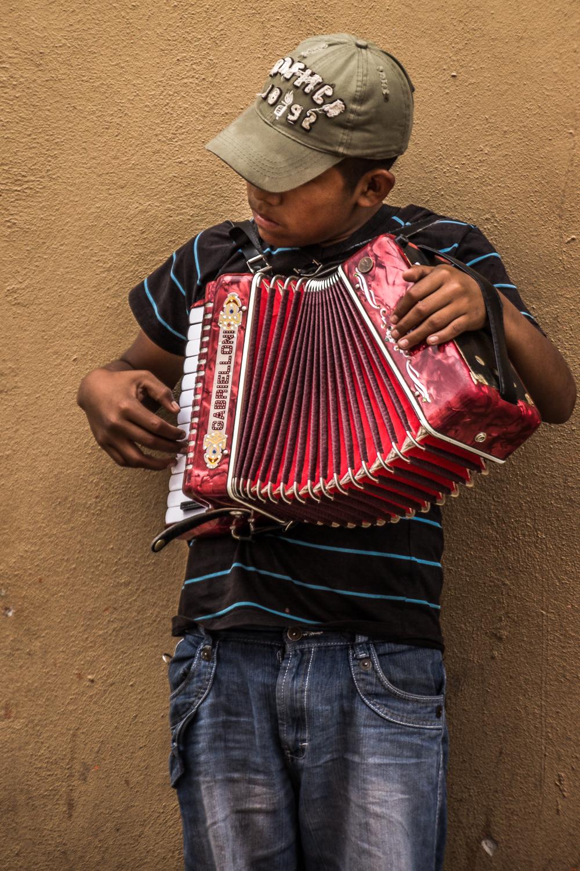 Accordion Player, Durango