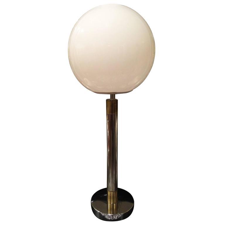 Large Robert Sonneman Style Lollipop Table Lamp