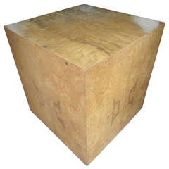 Milo Baughmen Cube Table