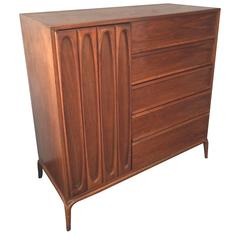 Sculptural Highboy Dresser